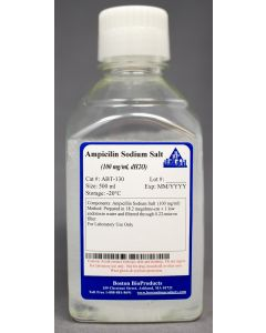 Ampicilin Sodium Salt  (100 mg/ml, dH2O)